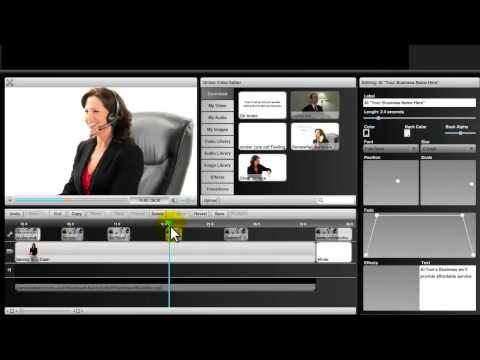 Video Marketing Software – How to Use the Online VideoJac Editor